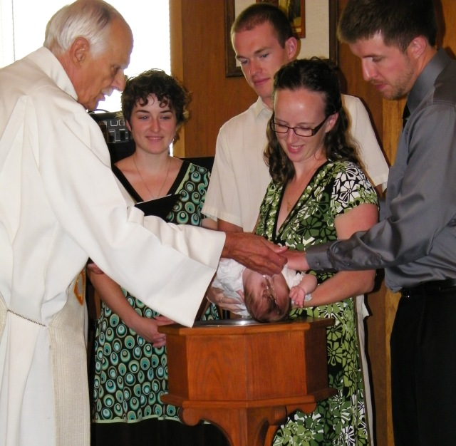 Mo's baptism