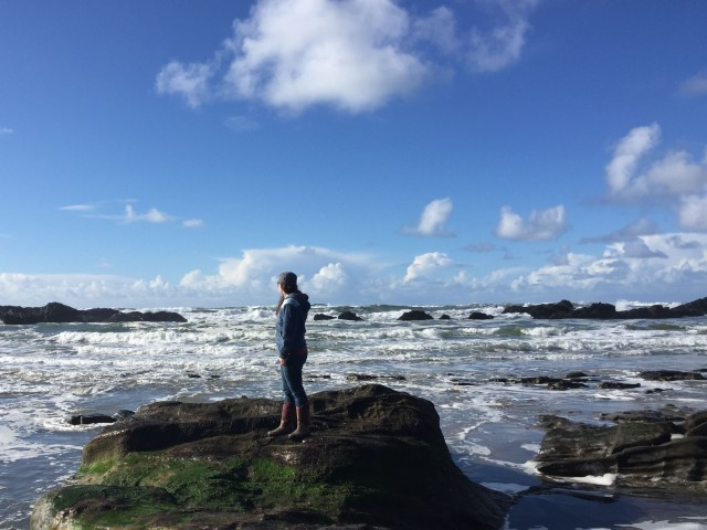Writing ocean